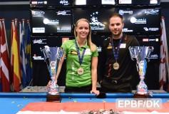 EURO選手権'16:オーシャン姉弟が14-1を制す!