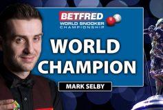 2016 スヌーカー世界選手権:マーク・セルビー、2度目の戴冠!