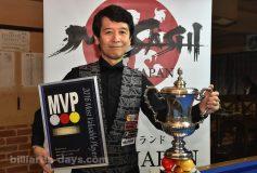 ADAM JAPAN杯 第27回全日本プロ3C選手権:新井達雄優勝!