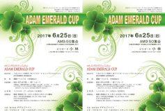 2017 アダム 3Cエメラルドカップ:25日開催!