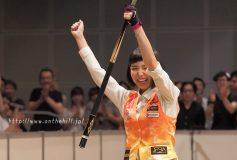 第30回 ジャパンオープン:女子は平口結貴が初優勝!男子は張榮麟が2勝目!