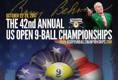 2017 USオープン9ボール:要項
