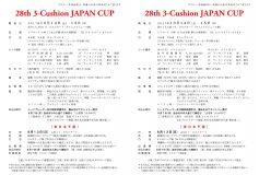 第28回 ジャパンカップ:東日本予選組合せ