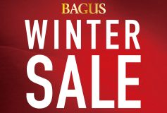 BAGUS Winter Sale 開催中!