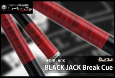 CUE-SHOP.JP:BlackJack ブレイキュー RED/BLACK