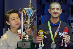"""2017 AZbilliards Players of the year""は陳思明&ジェイソン・ショウ!"