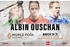 2019 World Pool Masters:アルビン・オーシャン、出場確定!