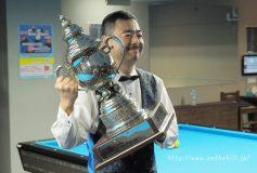 第25回 3C東京オープン:甲斐譲二、19年ぶりの大会三勝目!