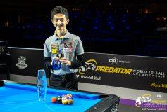 2019 Predator World 10-ball Championship:柯乗中、新10ボール世界チャンピオン!!