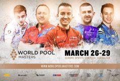 2020 World Pool Masters:3月26~29日、今年もジブラルタルでも開催確定!