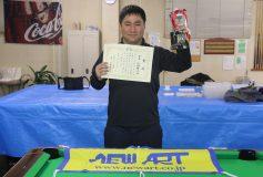 第25回 京都オープン:中野雅之優勝!
