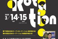全日本ローテーション選手権(第70回オープン級&第70回B級):要項【開催中止】