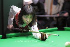 Predator One Pool Women's Cup:平口結貴、3位タイで終了