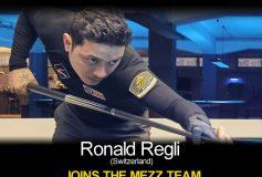 MEZZ:ロナルド・レグリがプロスタッフ入り!