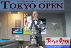 第27回 3C東京オープン:小野寺健容、初優勝!!