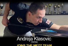 MEZZ:アンドレア・クラソヴィックがプロスタッフ入り!