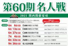第60期 名人戦:B級(関西、東海、北陸)結果!