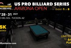 Predator US Pro Billiard Series:Arizona Openはフェダー・ゴーストが優勝!