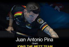 MEZZ:フアン・アントニオ・ピナがプロスタッフ入り!