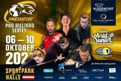 2021 Predator Austria Open:10月上旬、男女それぞれ開催!
