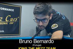 MEZZ:ブルーノ・ベルナルドがプロスタッフ入り!