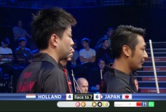World Cup of Pool'15:日本、ベスト8進出!
