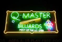 """""""Q-Master Billiards""""が売りに出ています"""