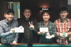 "BAGUS 錦糸町店:""WINTER 9ボールダブルス"":結果"