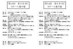 第14回 東日本IRC9ボール選手権:醍醐雅人優勝!