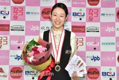 第23回全日本女子3C選手権:肥田緒里恵優勝!