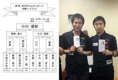 第7回 東日本TOKYOテンボール:小川徳郎優勝