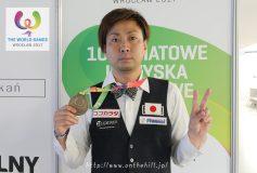 2017 World Games:大井直幸、銅メダル獲得!!【大会終了】