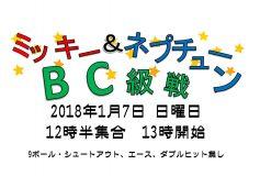 ミッキー&ネプチューン:BC級戦(7日)