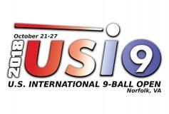 2018 US International 9-Ball Open:張榮麟、優勝!