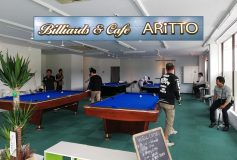 Billiards&Cafe ARITTO:本日25日(火)、オープン!