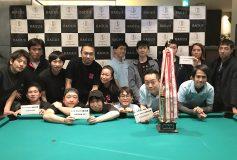 BAGUS新宿 BILLIARDS TEAM BATTLE -店舗対抗戦:結果