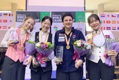 第9回 世界レディース3C選手権:肥田緒里恵準優勝!