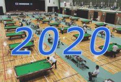 2020年スケジュール(JPBF/JAPA/JPBA)