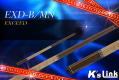 K's Link:EXCEED「EXD-B/MN」、入荷!