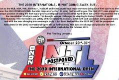 2020 INTERNATIONAL 9-BALL OPEN:【開催中止】