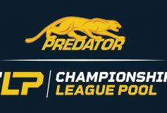 プレデターが「Championship League Pool」のタイトルスポンサーに!