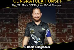 MEZZ:サイモン・シングルトンが「2021 Men's DPA Regional 10-Ball」で優勝!