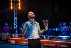2021 World Pool Masters:カザキス、マスターズ初制覇!