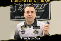 MEZZ:フランシスコ・ディアスが「Cordoba City Open」で優勝!