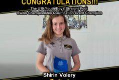 MEZZ:シリン・ヴォリュリーが「U19 Youth/Boys Straight Pool Swiss Championship Qualification event」で優勝!
