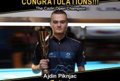 MEZZ:アイディン・ピクニャクが「Cazin Open」で優勝!