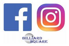 BILLIARD SQUARE:【Facebook】【Instagram】随時更新中!