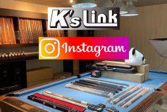 K's Link:11日(土)18時~~【インスタライブ】ビリヤードオンライン展示会!