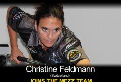 MEZZ:クリスティーン・フェルドマンがプロスタッフ入り!