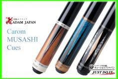 CUE-SHOP.JP:ADAM MUSASHI(3C・キャロム用)各種販売中!